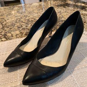 Chanel Leather Classics Pump Shoes Size 37